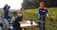 Fahrradrallye 2012 in Meseberg