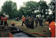 Jugendfeuerwehr am Fuchsbau 1996