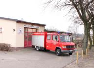 Gerätehaus und TSF-W